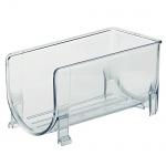 "Kela "" Gent"" Flaschenhalter, PS Kunststoff, transparent, 20x 10, 5x 10cm"