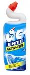 WC-Ente WC-Gelreiniger mit Entenhals 5in1 Marine, 1er Pack (1 x 750 ml)