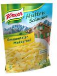 Knorr Hüttenschmaus Emmentaler Makkaroni, 3 x 2 Portionen (3 x 500 ml)