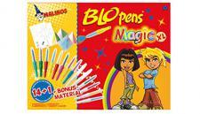 Malinos 300963 - Blopens Magic, Malset, XL 14 und 1 zuzüglich Bonusmaterial