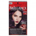 Brillance Intensiv-Color-Creme, 888 Dunkle Kirsche, 1er Pack (1 x 1 Stück)