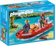 PLAYMOBIL 5559 - Schlauchboot mit Wilderern