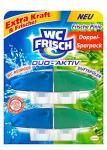 WC Frisch Duo Aktiv Duftspüler Frische Pinie Nachfüllpack, 4er Pack (4 x 2 Stück)