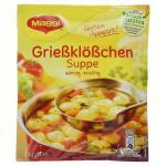 Maggi Guten Appetit, Grießklößchen Suppe, 50 g Beutel (ergeben 1 Liter) Für 4 Teller