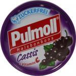 Pulmoll Cassis Halsbonbons zuckerfrei, 50 g