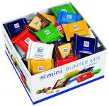 Ritter Sport mini bunter Mix Theken-Display, Minis in 7 Sorten, 1er Pack (1 x 1, 4 kg)