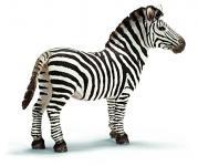 Schleich 14391 - Wild Life, Zebra Hengst