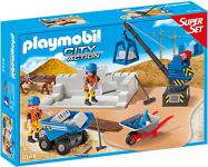 PLAYMOBIL 6144 - Super Set Baustelle