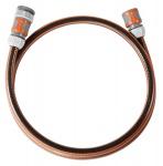 Gardena Anschlussgarnitur Comfort FLEX 13mm 1/2 Zoll 1500mm Schwarz Orange