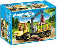 PLAYMOBIL 6813 - Holztransporter mit Kran