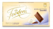 Feodora Chocolade-Tafel Tradition Edel-Bitter-Sahne, 5er Pack (5 x 100 g)