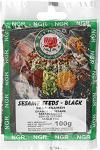 Ngr Sesamsaat, schwarz, 100g, 5er Pack (5 x 100 g Packung)