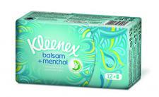 Kleenex Balsam plus Menthol Taschentücher Fresh, 8er Pack (8 x 12 Stück)