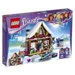 Lego Chalet im Wintersportort