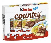 kinder Country Riegel, 6er Pack (6 x 212 g)