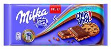 Milka Chips Ahoy Schokolade 100g