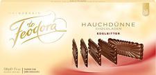 Feodora - Hauchdünne Chocoladen Edelbitter - Schokolade - 100g