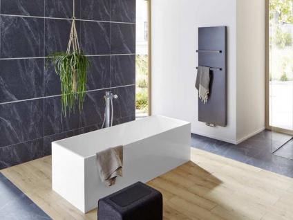 Freistehende Badewanne Firenze aus Mineralguss in matt von Bädermax