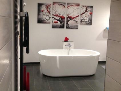 Freistehende Badewanne Almeria 168 aus Acryl in weiß glänzend von Bädermax - Vorschau 5