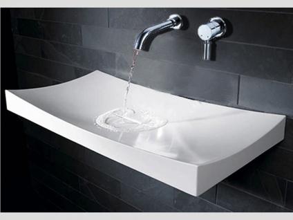Waschbecken Curone aus Mineralguss in matt von Bädermax - Vorschau 4