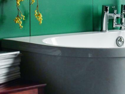 Freistehende Badewanne Mallorca aus Acryl in weiß glänzend von Bädermax - Vorschau 5