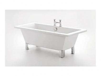 Freistehende Nostalgie Badewanne Brighton 169 aus Acryl in weiß glänzend von Bädermax - Vorschau 3