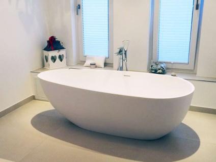 Freistehende Badewanne Luino Grande aus Mineralguss von Bädermax inkl. Ab-/Überlauf - Vorschau 5