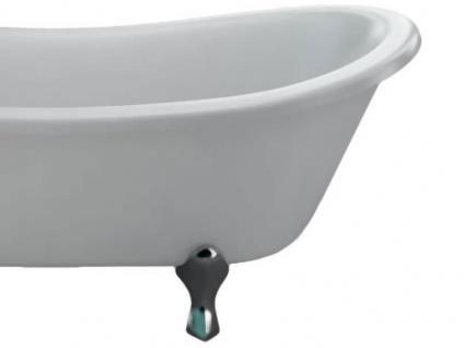 Freistehende Nostalgie Badewanne Barnsley aus Acryl in weiß glänzend von Bädermax - Vorschau 3