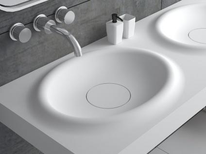 Waschbecken Belbo-Grande aus Mineralguss in matt von Bädermax - Vorschau 5
