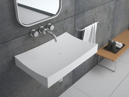 Waschbecken Curone aus Mineralguss in matt von Bädermax - Vorschau 3