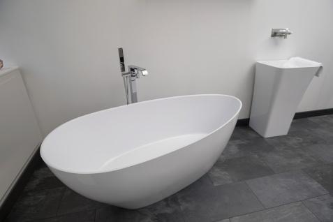 Freistehende Badewanne Modena Mineralguss - Vorschau 3