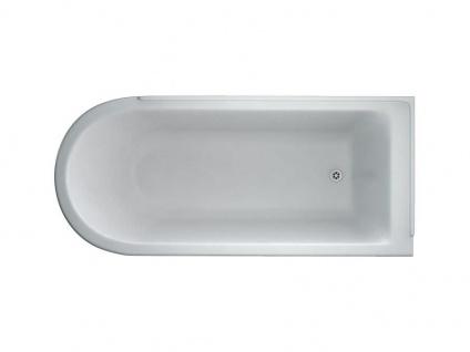 Freistehende Nostalgie Badewanne Derby Big aus Acryl in weiß glänzend von Bädermax - Vorschau 5