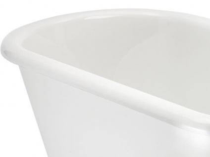 Freistehende Nostalgie Badewanne York Tondo aus Acryl in weiß glänzend von Bädermax - Vorschau 4
