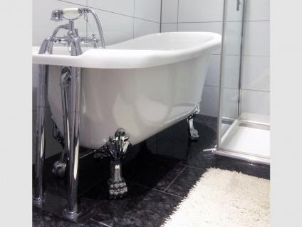 Freistehende Nostalgie Badewanne Oldham aus Acryl in weiß glänzend von Bädermax - Vorschau 5