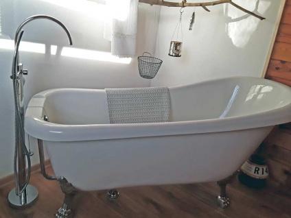 Freistehende Nostalgie Badewanne Portland aus Acryl in weiß glänzend von Bädermax - Vorschau 3