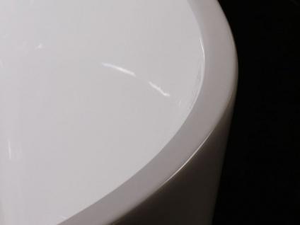 Freistehende Badewanne Murcia aus Acryl in weiß glänzend von Bädermax - Vorschau 5