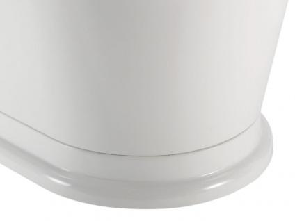 Freistehende Nostalgie Badewanne York Tondo aus Acryl in weiß glänzend von Bädermax - Vorschau 5