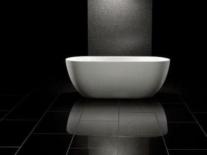 Freistehende Badewanne Valencia aus Acryl in weiß glänzend von Bädermax - Vorschau 2