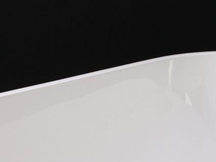 Freistehende Badewanne Valencia aus Acryl in weiß glänzend von Bädermax - Vorschau 3