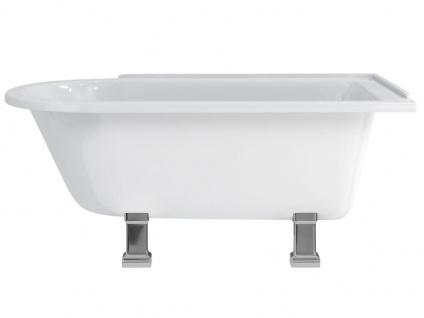 Freistehende Nostalgie Badewanne Derby small aus Acryl in weiß glänzend von Bädermax - Vorschau 2