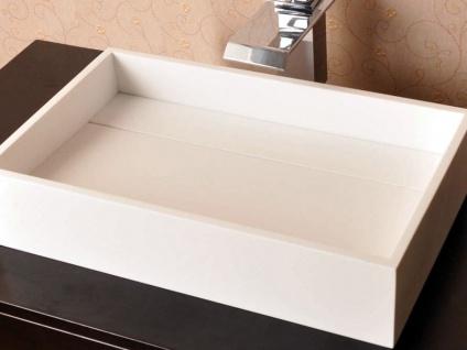 Aufsatzbecken Turano aus Mineralguss in glänzend von Bädermax - Vorschau 3
