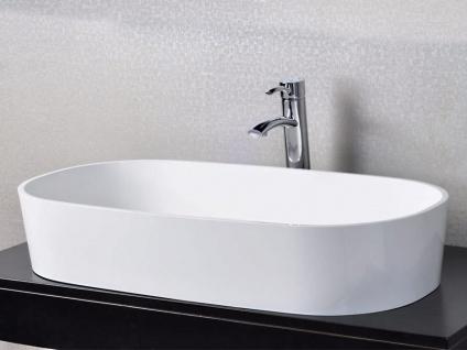 Waschbecken Musone aus Mineralguss in glänzend von Bädermax - Vorschau 3