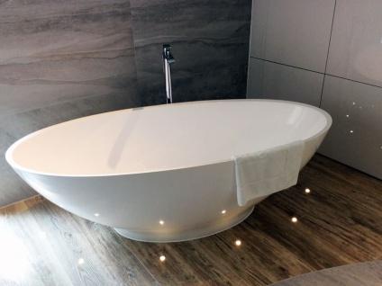 Freistehende Badewanne Barletta aus Mineralguss in matt von Bädermax