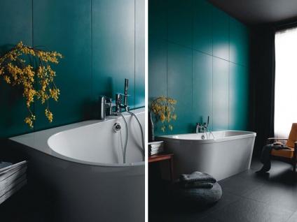 Freistehende Badewanne Mallorca aus Acryl in weiß glänzend von Bädermax - Vorschau 4