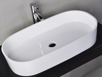Waschbecken Musone aus Mineralguss in glänzend von Bädermax - Vorschau 5