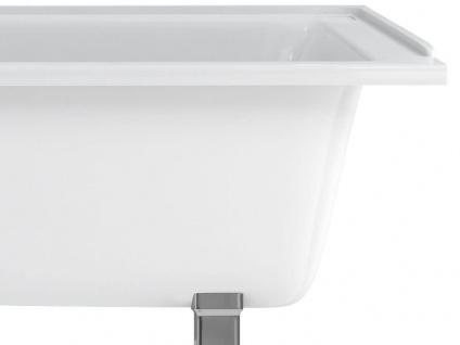 Freistehende Nostalgie Badewanne Derby small aus Acryl in weiß glänzend von Bädermax - Vorschau 4