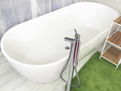 Freistehende Badewanne Montecristo-Grande aus Mineralguss in matt von Bädermax