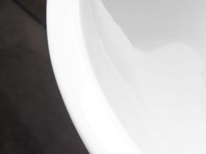 Freistehende Badewanne Sevilla aus Acryl in weiß glänzend von Bädermax - Vorschau 3