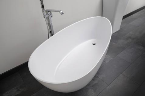 Freistehende Badewanne Modena Mineralguss - Vorschau 4