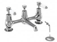 Nostalgie Waschbecken-Aufsatzarmaturen Kent-10 von Bädermax